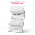 Bloco Personalizado - 1 via - 10x15 - AP 75g - 50x1